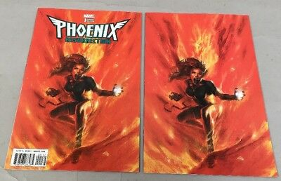 PHOENIX RESURRECTION RETURN JEAN GREY #1 Lot Of 2 Dell'Otto With Virgin Variant