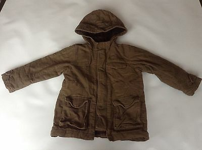 Girls GENUINE Baby Gap Hooded Jacket Coat Age 4-5 Years Old Vgc