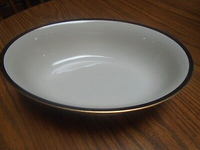 "Franciscan China Sunset Bowl Oval Serving 9 1/2"" 1957-66"