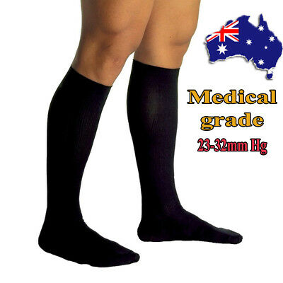 2018 23-32mmHg Medical Compression Socks Support Stockings Travel Flight Socks