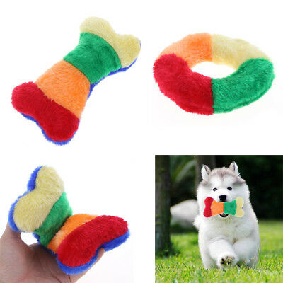 Dog Toy Funny Play Pet Puppy Chew Bite Squeaker Squeaky Soft Plush Sound Toys