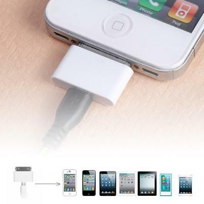 Female Micro USB To Male for Apple 30Pin iPhone4 4S 3G 3GS Charger Adapter Cable