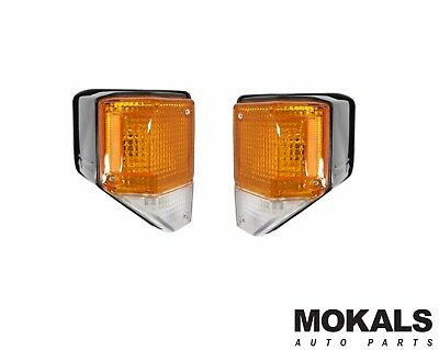 corner indicator park lights for Toyota Landcruiser 70 75 Series pair LH&RH