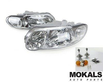 Holden Commodore VX VU headlight Left & right sides (pair) 2000-2003 + free bulb