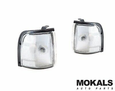 Left & Right White Corner park Lights for Holden Rodeo UTE TF G3/G6 1988-1997