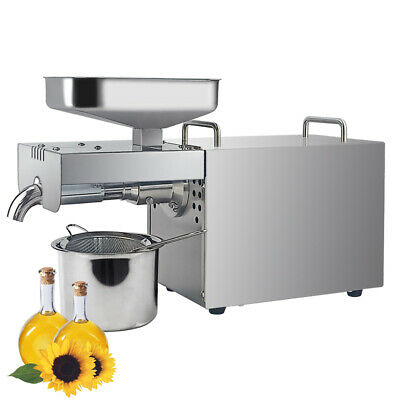 Stainless steel Oil Press Machine Seed Auto Cold Press Oil Expeller Extractor