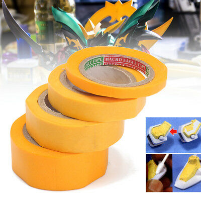 4 Size Set DIY Modeling Tools Craft Modeler Car Paint Tool Model Masking Tapes