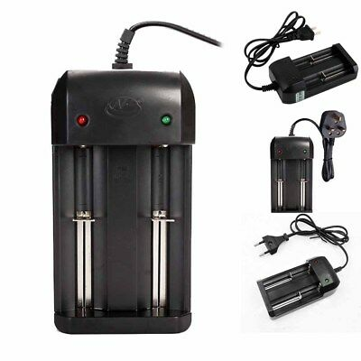 UK EU US 3-4.2v Chargeur Charger Pr Accu Batterie Pile 26650 18650 LI-ION