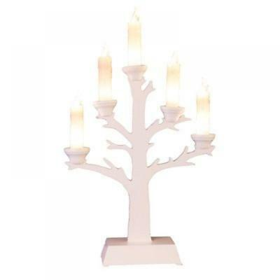 "Star, Candelabro LED a 5 fiamme ""Wedding Tree"" - NUOVO"