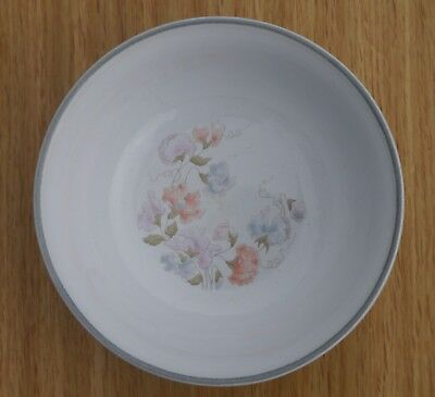 Denby Encore Dauphine Oatmeal / Cereal / Soup Bowl Sweet Pea Design Sold Single