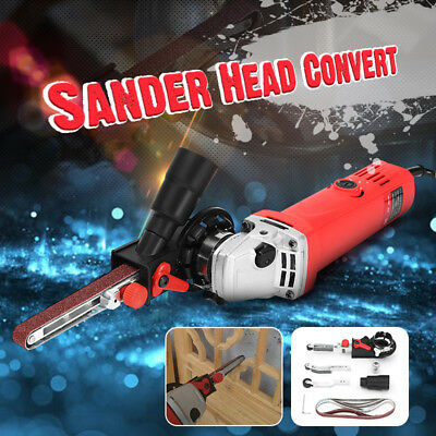 DIY Sander Sanding Belt Adapter M10 For 100mm 4'' Electric Angle Grinder tool