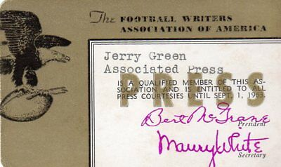 1962-63 Green Bay Packers Champs Ticket Pass Top NY Giants/Y.A.Tittle MVP/Olsen