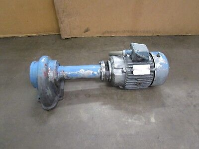Ruthman Gusher 11027F-L Machinery Coolant Pump 5Hp 230/460V 3Ph 3450Rpm