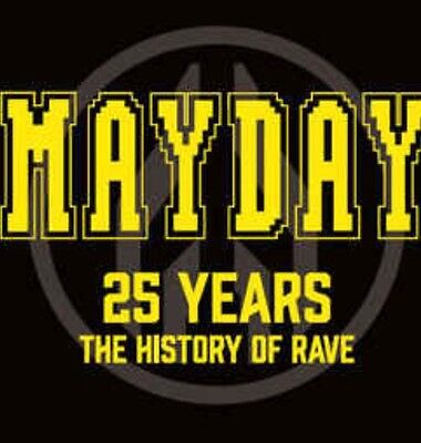 Mayday - 25 Years (The History of Rave) 4LP Vinyl *Neu*