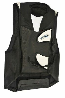 Airbag Vest Helite GP Air for the Race Track Size: L Colour: Black/White