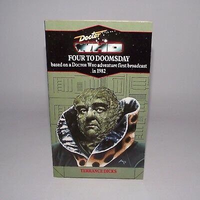 Doctor Who Four To Doomsday Virgin Blue Spine Edition Target Book Terrance Dicks