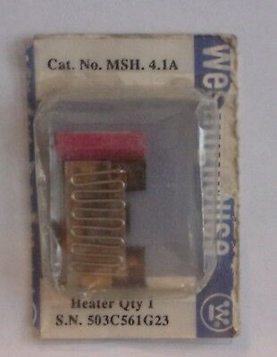 Eaton Cutler Hammer  Msh.4.1A Thermal Heater Overload For Ms Starter Msh41A Nip