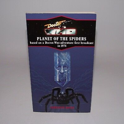 Doctor Who Planet Of The Spiders Virgin Blue Spine Edition Target Novel Book