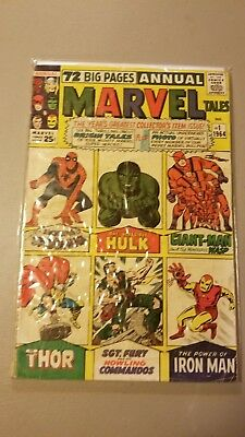 Marvel Tales Annual  #1     1964  All Origins Issue