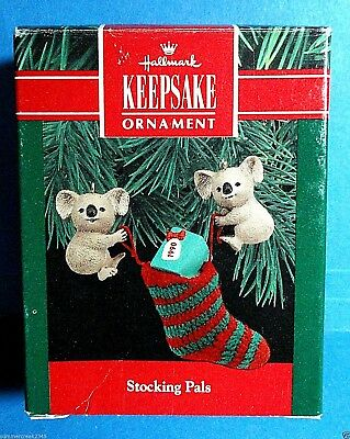 "Hallmark ""Stocking Pals"" Ornament 1990"