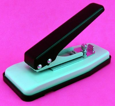 Desktop Slot Id Card Badge Oval Hole Punch Adjustable Guide Die Cutter Akiles