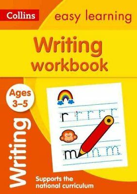 Writing Workbook Ages 3-5: New Edition by Collins Easy Learning 9780008151621
