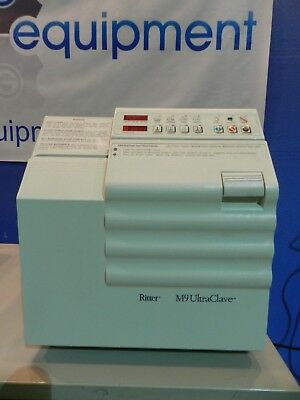 Midmark M-9 Autoclave with Trays as shown