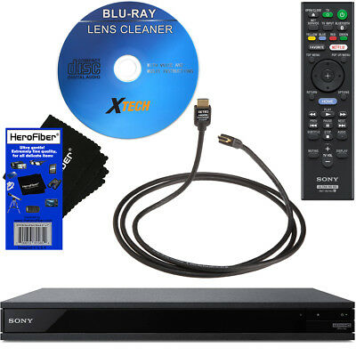 Sony UBP-X800 / UBP-UX80 4K Ultra HD Blu-ray Disc Player with Wi-Fi