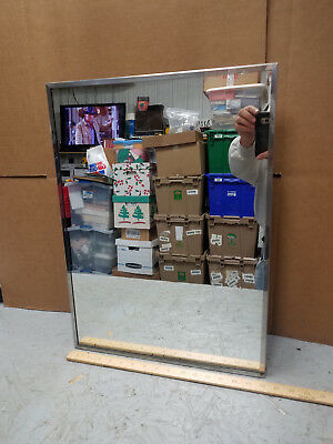 Vintage Metal Bathroom Medicine Cabinet W/mirror And Shelf, By Sears & Roebuck