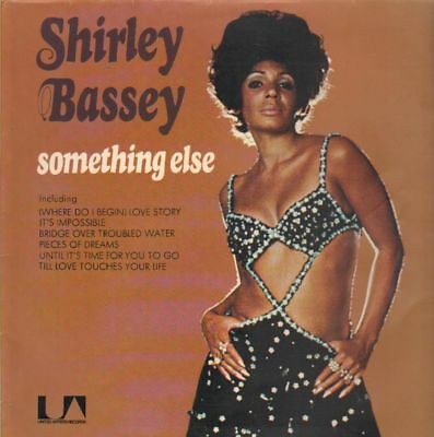 Shirley Bassey Something Else WITH POSTER United Artists Records Vinyl LP