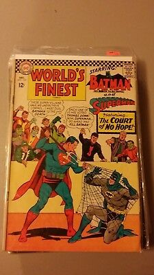 World's Finest Dec.#163 DC Comics 1960's  Superman & Batman The Court Of No Hope