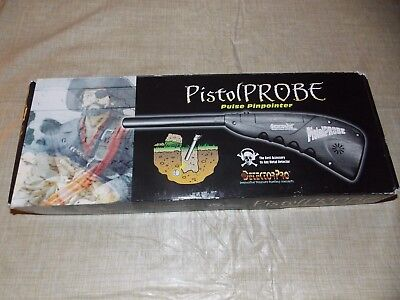 DETECTOR PRO ~ PISTOL PROBE ~ PULSE ~ PINPOINTER - Used