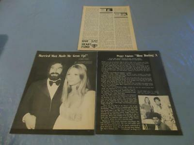 Peggy Lipton vintage layout  clipping  #117