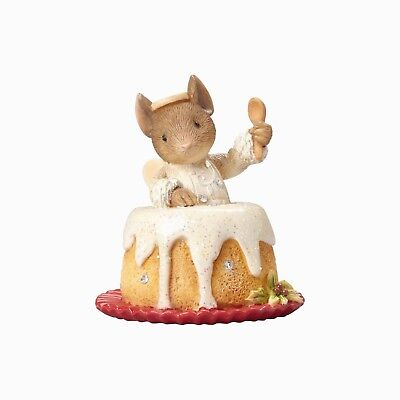 Heart Of Christmas~Mouse Angel Food Cake~Ornament~Squeak Treat!~K.hahn~4057662