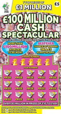 Business Opportunity, Lottery Scratch Card Syndicate join now for 2018 / 19
