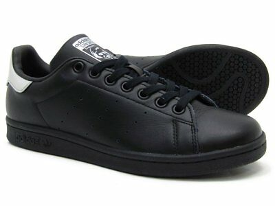 buy popular e5bc0 e88fb ADIDAS Originals Stan Smith Scarpe da ginnastica Donna in Nero Argento  Taglia 4.57.5 - mainstreetblytheville.org