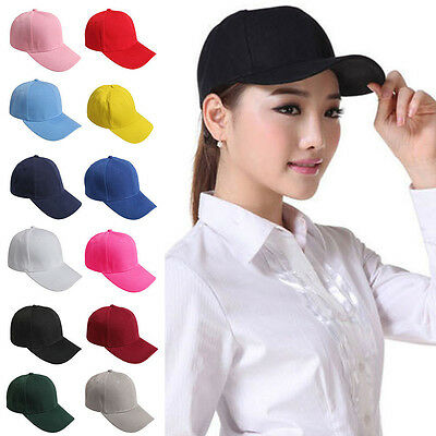 Plain Baseball Caps Mens Baseball Cap Unisex Peak Caps Summer Hat Sports Caps