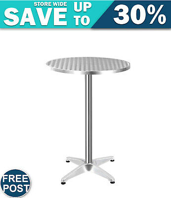 Adjustable Round Bar Table FAST & FREE SHIPPING WARRANTY