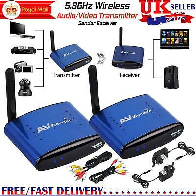 IR Remote 5.8GHz 5.8G Wireless TV STB AV Audio Video Sender Transmitter Receiver