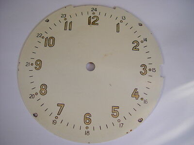 Dial for russian marine Ship's cabin clock . Chronometer