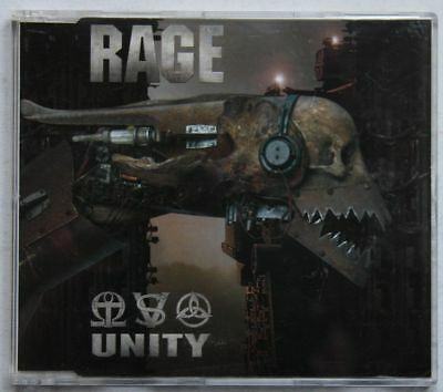 Rage Unity Rare 2002 Adv CD Unique Biography Cover + Insert