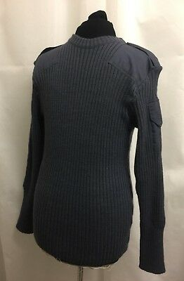 British Military Raf / Olive Green Army Wool Pullover Jumper . Sizes