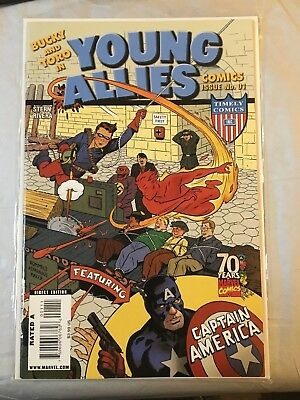 Bucky And Toro In Young Allies - #1 - Captain America - Marvel Comics - Vfn-