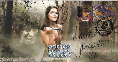 "Dr Who - ""The Face Of Evil"" Episode - Signed by LOUISE JAMESON"