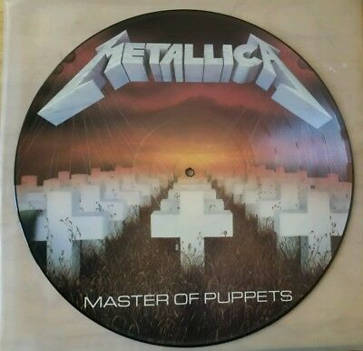 Metallica-Master of Puppets Picture Disc LP