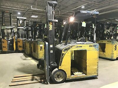 2010 Yale ESC035ACN Stand Up Electric Used Forklift - includes battery