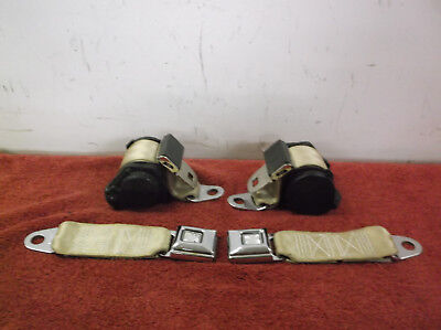 78-82 Corvette Seat Belts Retro Belt U.s.a. Tan Gm C3