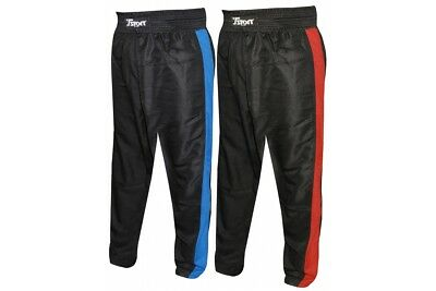 T-Sport Kickboxing Mesh Trousers Blue Martial Arts Training (WAS £34.99)