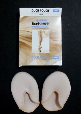 New In Box Bunheads Capezio Ouch Pouch Toe Pads For Pointe Dancers Nude