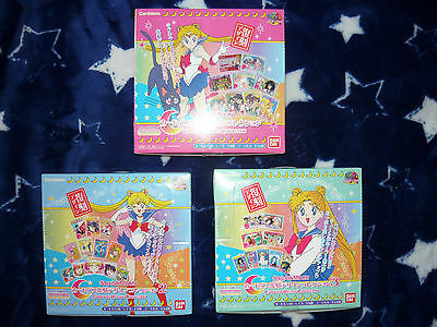Sailor Moon Carddass Revival Collection Kartenset: Trading Cards Bandai *Auswahl